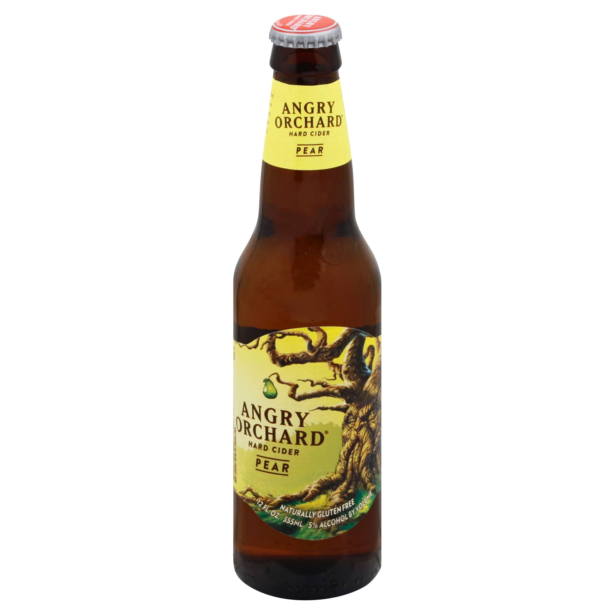 Angry Orchard Beer, Hard Cider, Pear - 12 fl oz