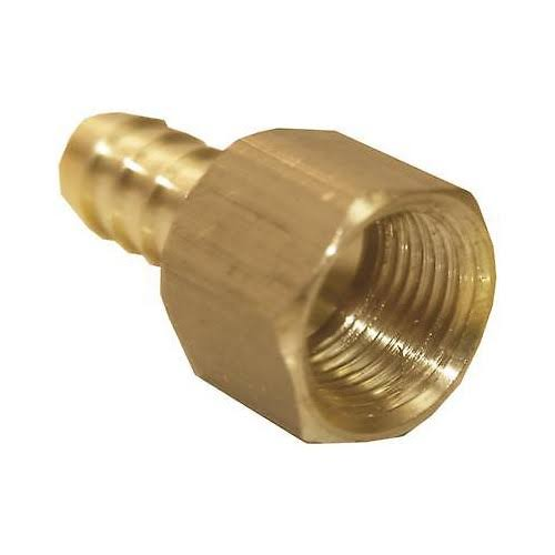 Lasco 17-7635 Brass Hose Barb x Female Pipe Thread Adapter