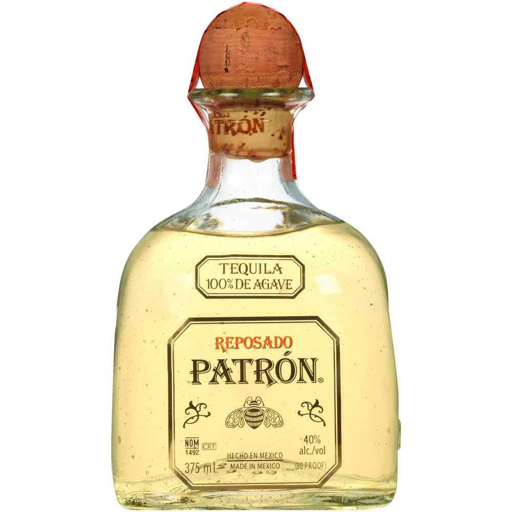 Patron Reposado Tequila - 375 ml bottle