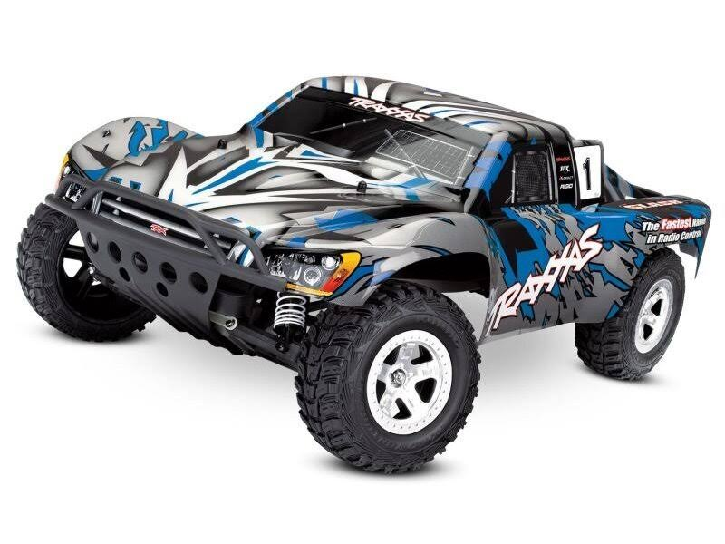 Traxxas Slash 2WD Short Course Racing Truck, Blue