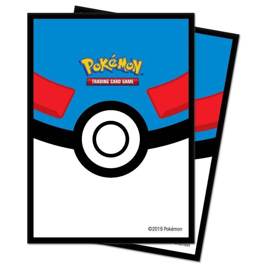 Pokemon Trading Card Game Great Ball Card Sleeves [65 Count]