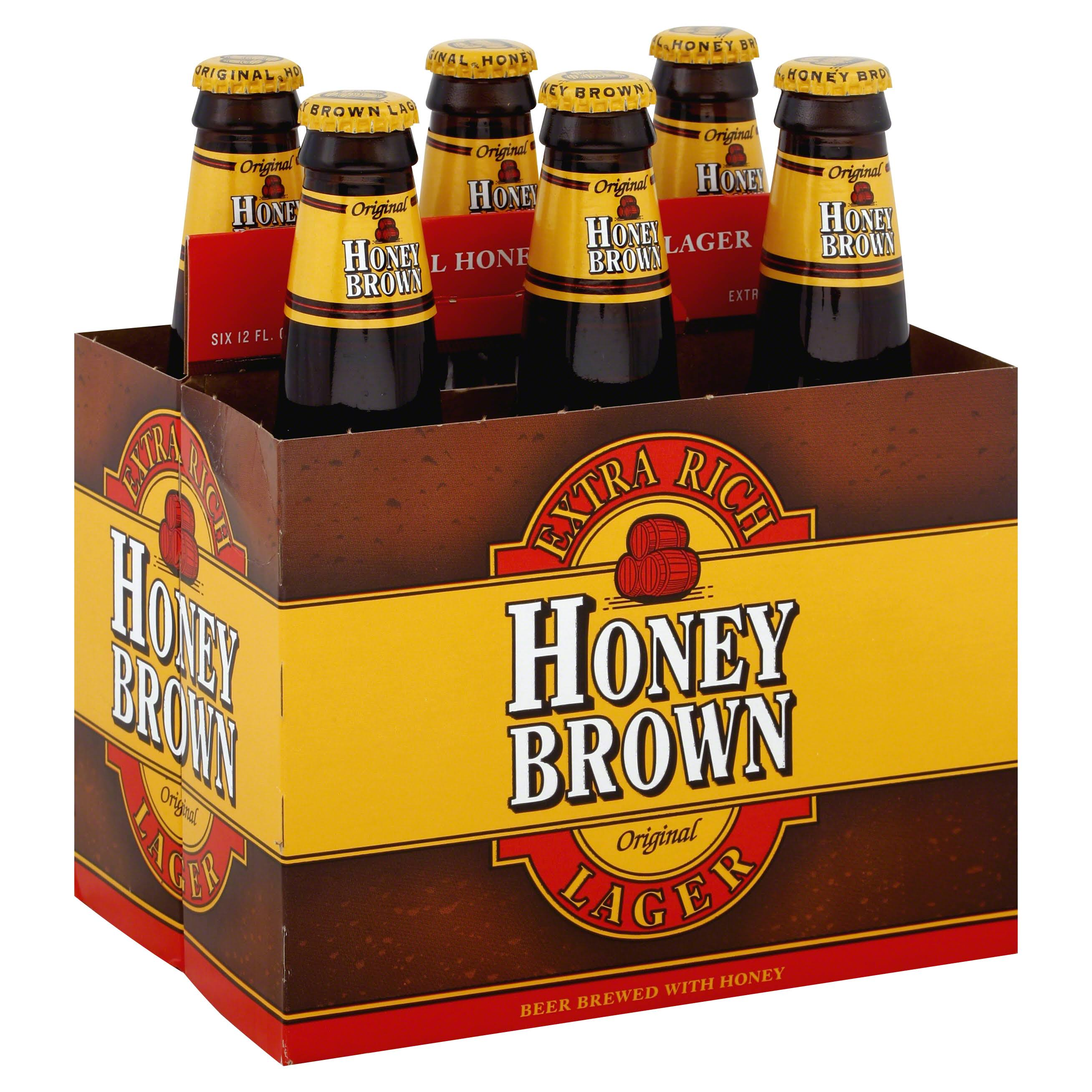 Dundee Brewing Co. Original Honey Brown Lager - 6 Pack