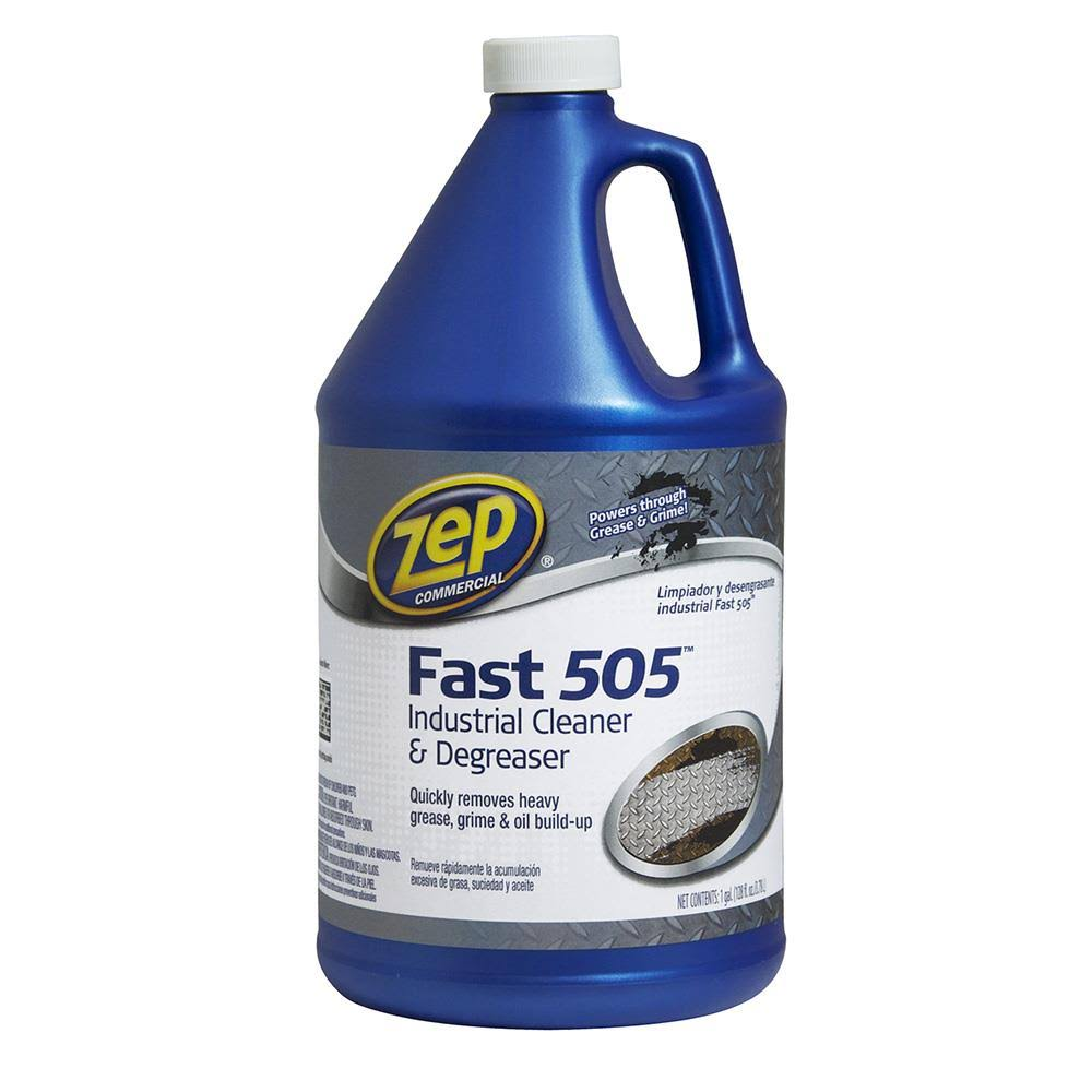 Zep Commercial Fast 505 Industrial Cleaner and Degreaser - 128oz