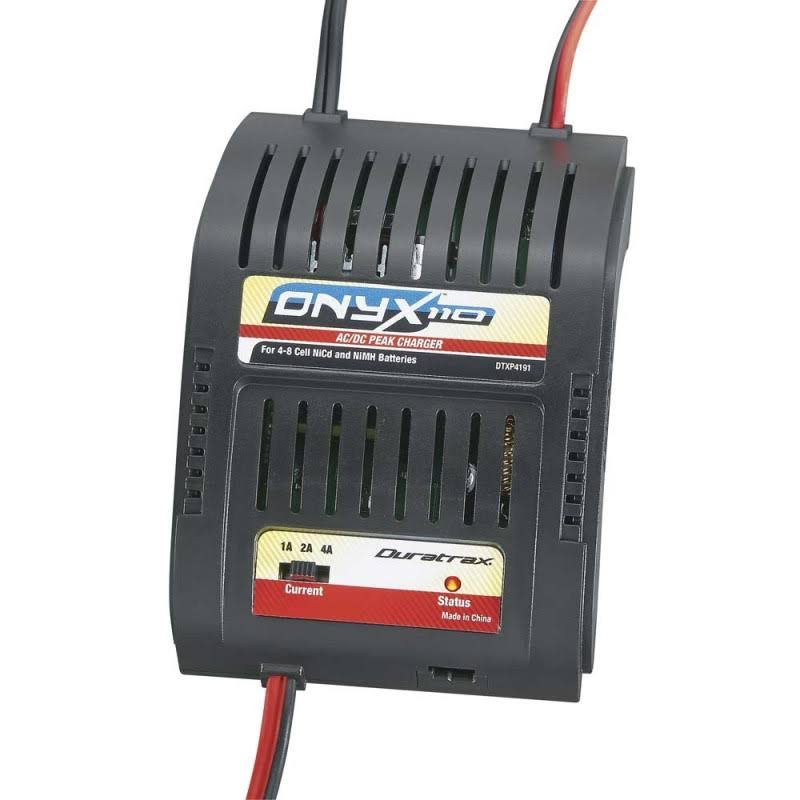 Duratrax Onyx 110 Ac/dc Peak NiCd and NiMH Battery Charger - 4 Amp