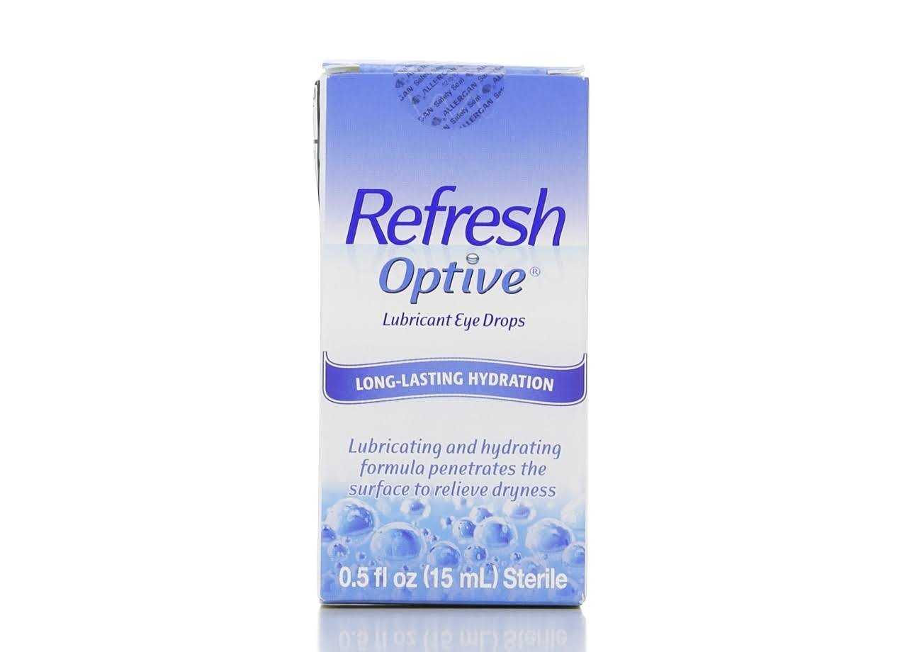 Refresh Optive Sterile Lubricant Eye Drops - 15ml