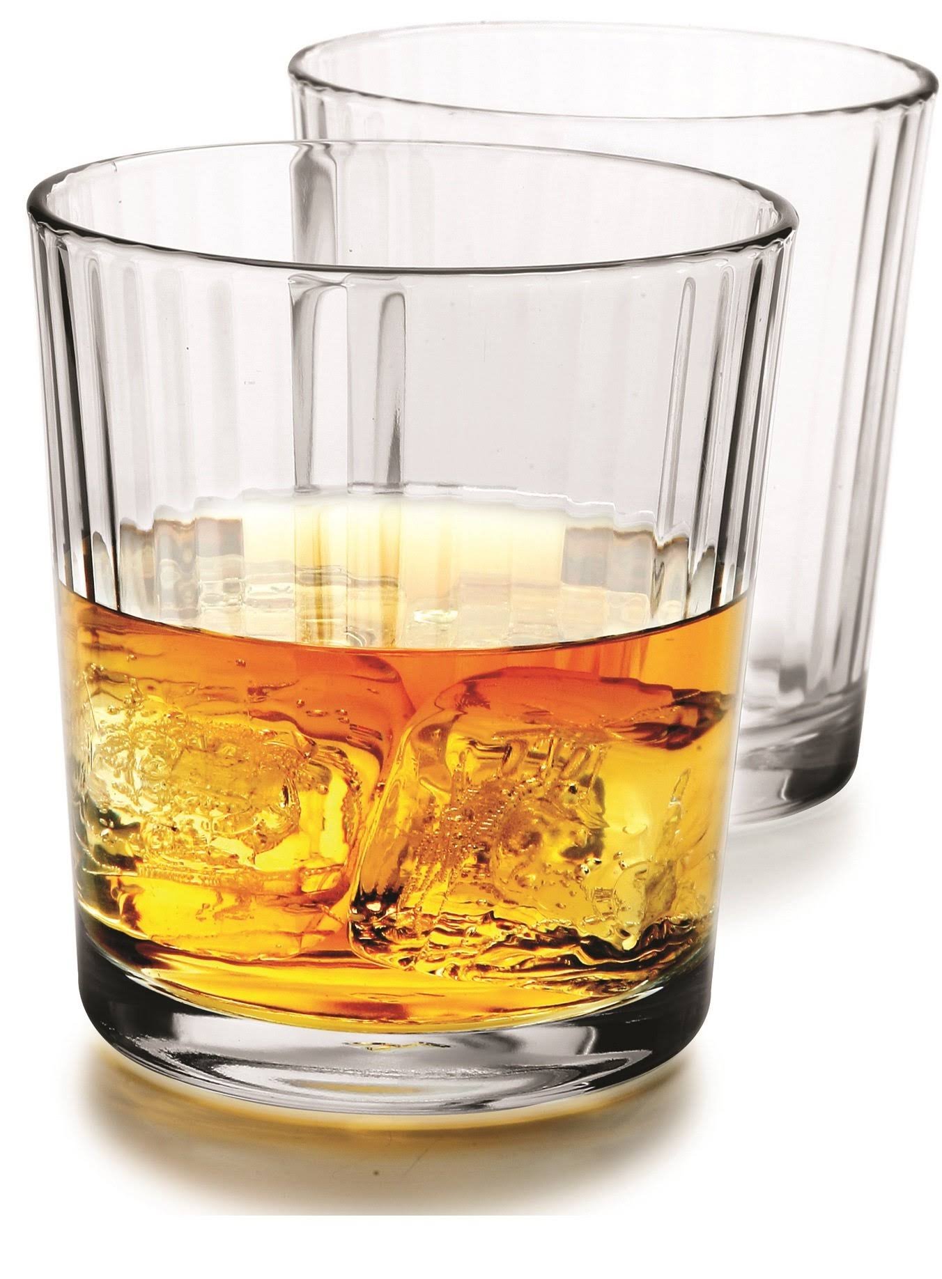 Circle Glass 13oz DOF Spectrum Whiskey Glasses | Set of 4 - 44140