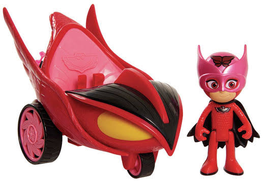 PJ Masks Hero Blast Vehicle Owl Glider Playset