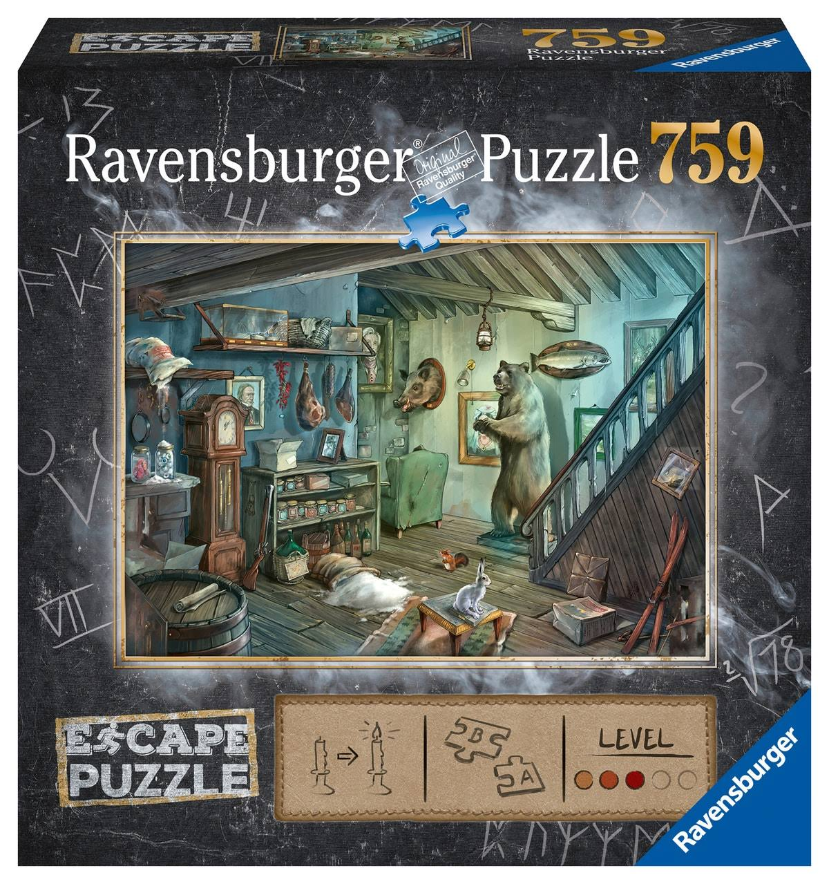 Ravensburger The Forbidden Basement Escape Puzzle - 759pcs
