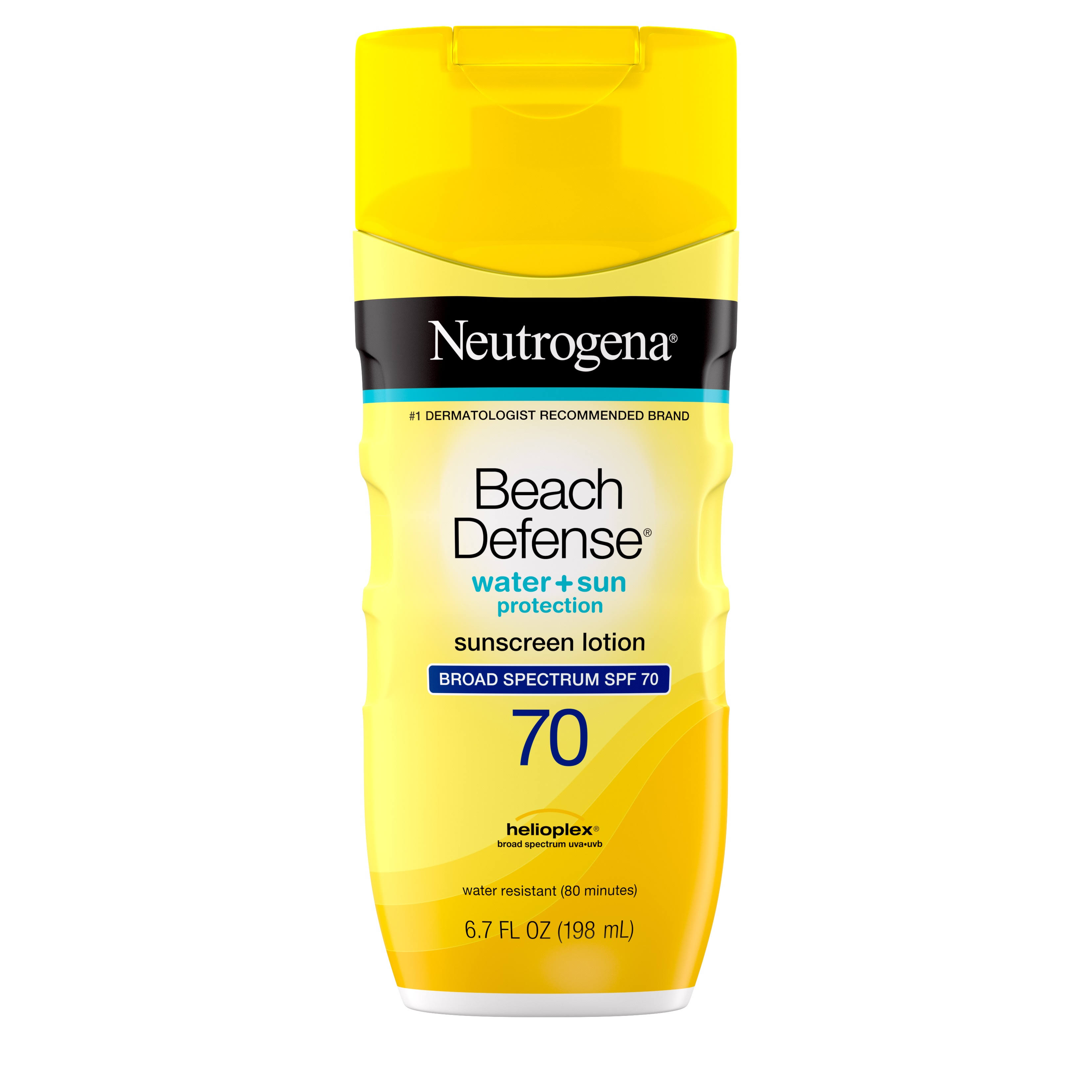 Neutrogena Beach Defense Broad Spectrum Sunscreen Lotion - Spf 70, 6.7oz