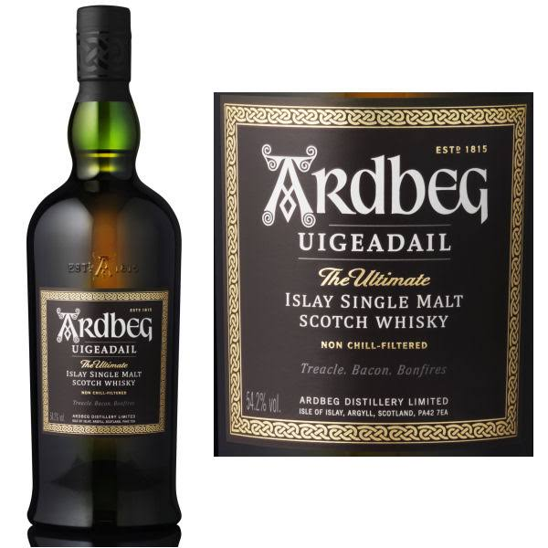 Ardbeg Uigeadail The Ultimate Islay Single Malt Scotch Whisky - 750ml