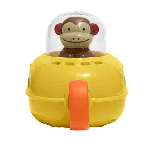 Skip Hop Zoo Bath Pull and Go Submarine - Monkey