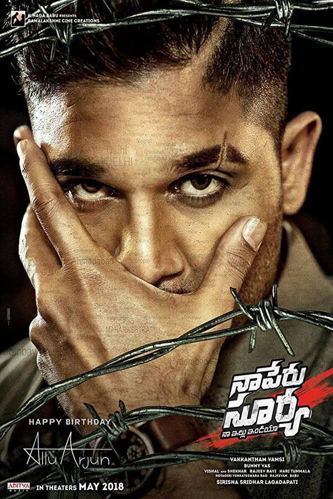 Surya The Brave Soldier (naa Peru Surya Na Illu India) (2018) Hindi Dubbed 720p 480p Mkv
