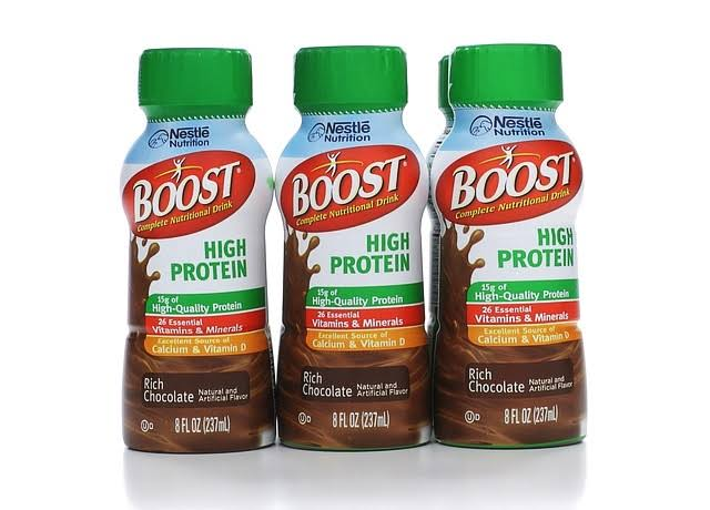 Boost Complete High Protein Nutritional Drink - Rich Chocolate, 8oz