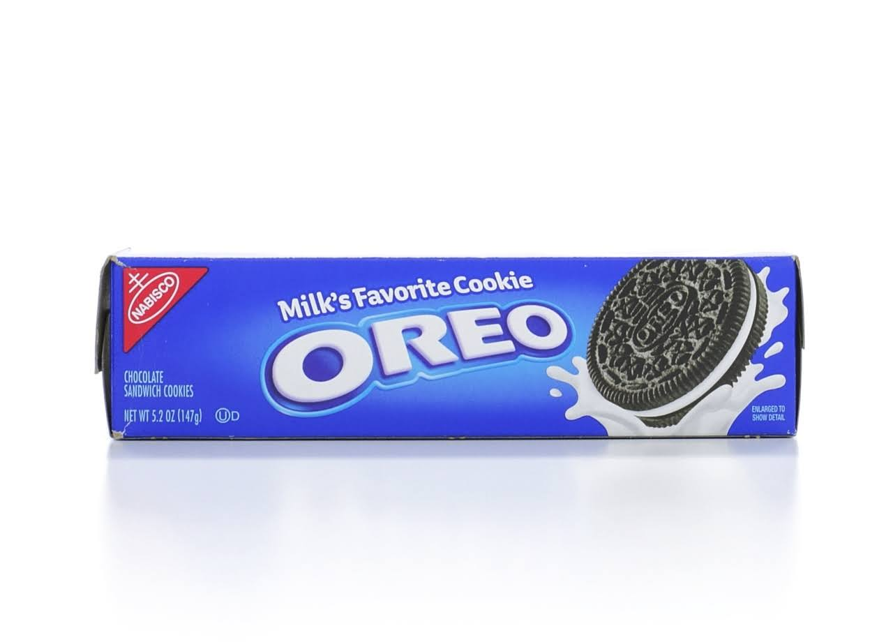 Nabisco Oreo Chocolate Sandwich Cookies - 5.2oz