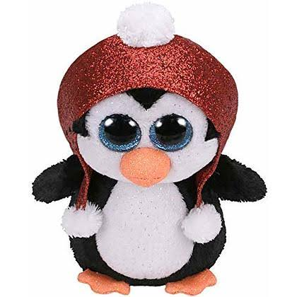 Ty Beanie Boos Plush Toy - Gale the Penguin, 15cm