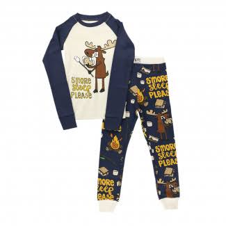 S'more Sleep Please | Kid PJ Set (2T)