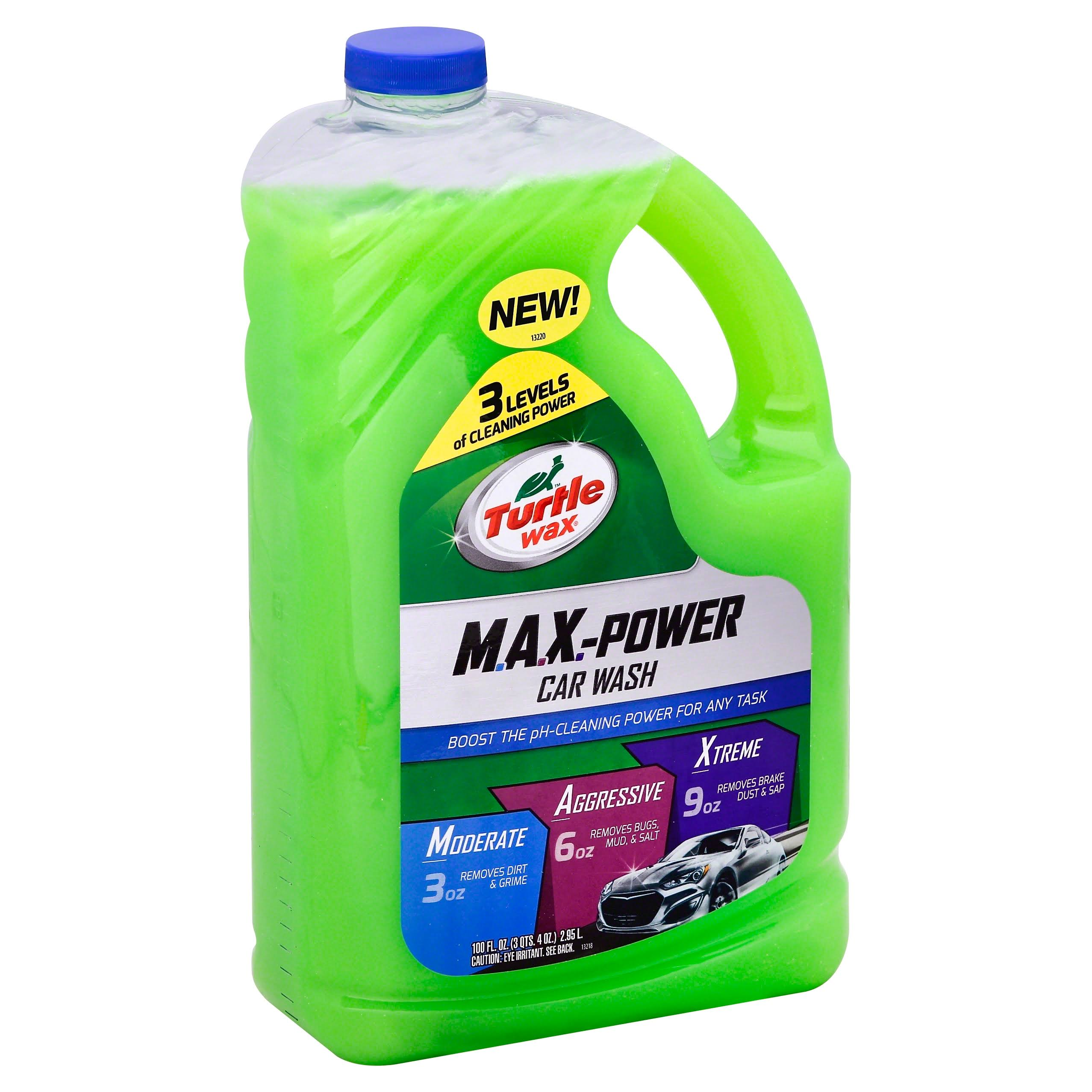 Turtle Wax Max-Power Car Wash