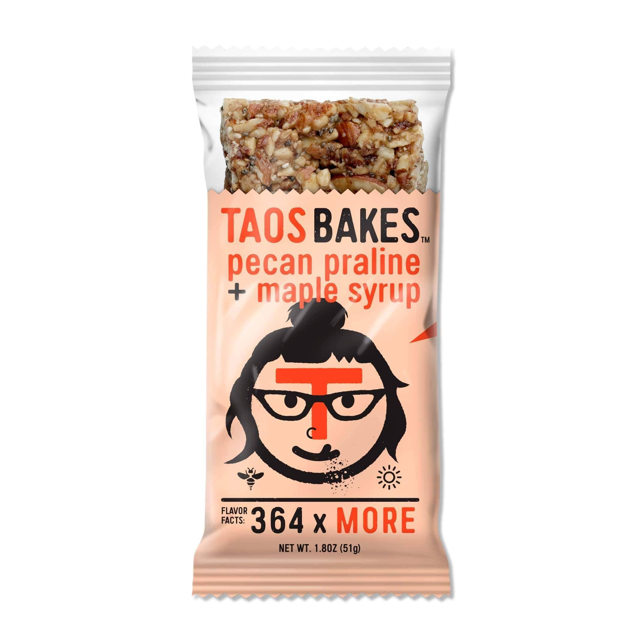 Taos Bakes Energy Bar Pecan Praline/Maple Syrup