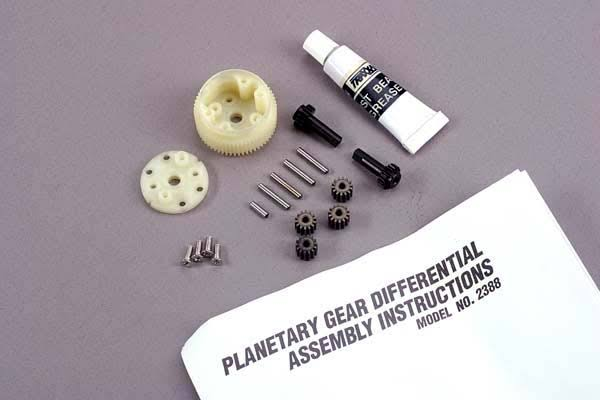 Traxxas 2388 Complete Planetary Gear Differential