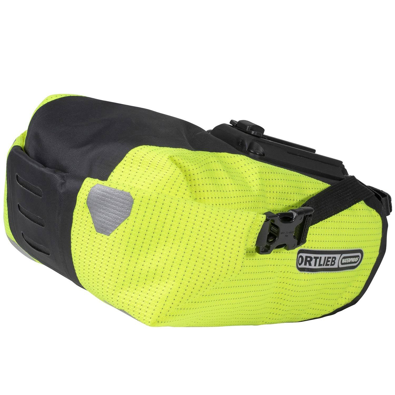 Ortlieb High Visibility Saddle Bag Two Yellow