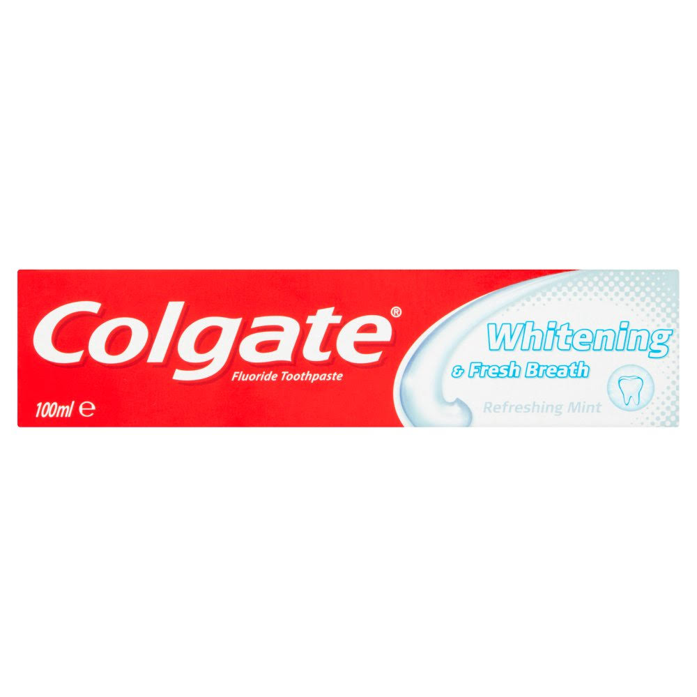 Colgate Whitening & Fresh Breath Toothpaste - 100ml