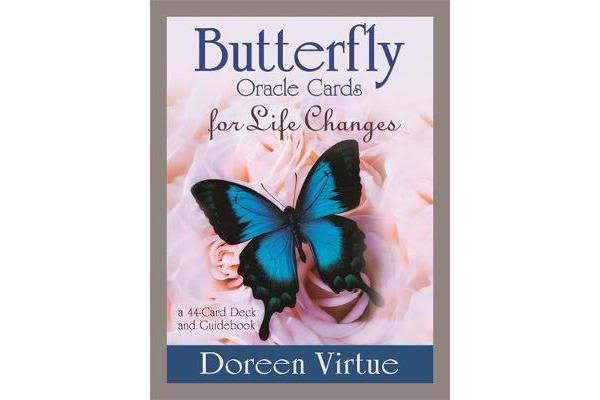 Butterfly Oracle Cards for Life Changes: A 44-Card Deck and Guidebook - Doreen Virtue