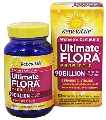 Renew Life Ultimate Flora Probiotic - 60 Capsules