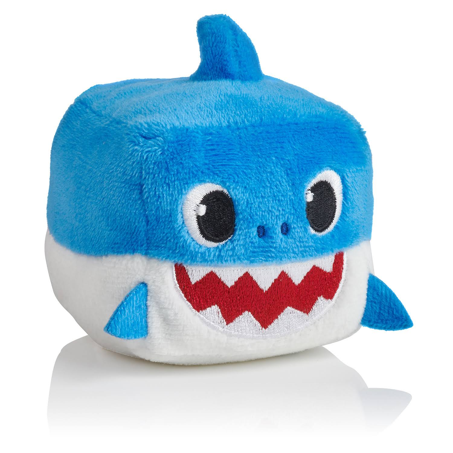 Wow Wee Pinkfong Shark Family Sound Cube Plush Toy - Daddy Shark