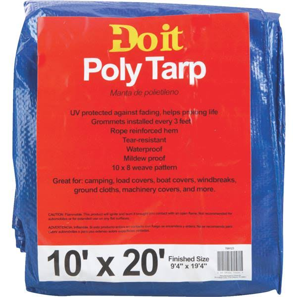 Dynatech International Inc. 709123 Do It Medium Duty Poly Tarp