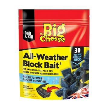 The Big Cheese All Weather Bait Blocks - 30ct, 10g