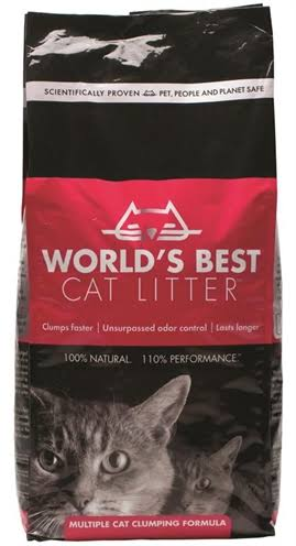 World's Best Cat Litter - 3.18kg, Extra Strength