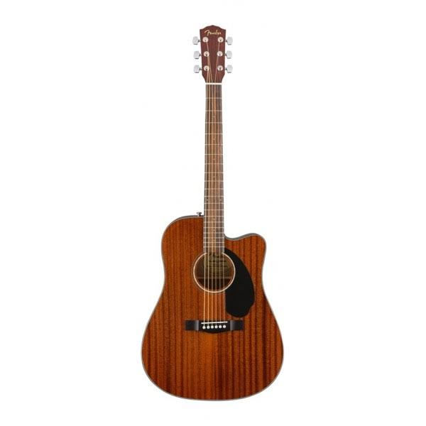Fender CD60SCE Dreadnought Acoustic Electric Guitar - Walnut