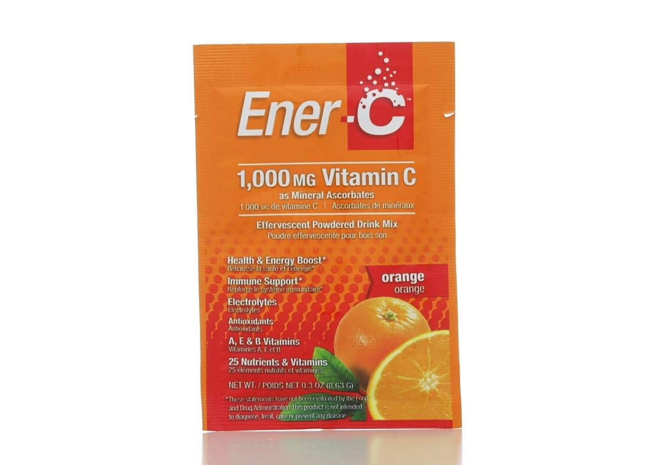 Ener C Vitamin C, Orange - 0.3 oz bag