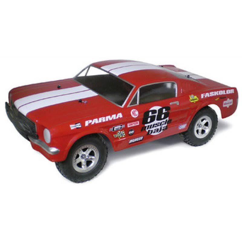 Parma '66 Muscle SC Baja .040 Clear Body 1247