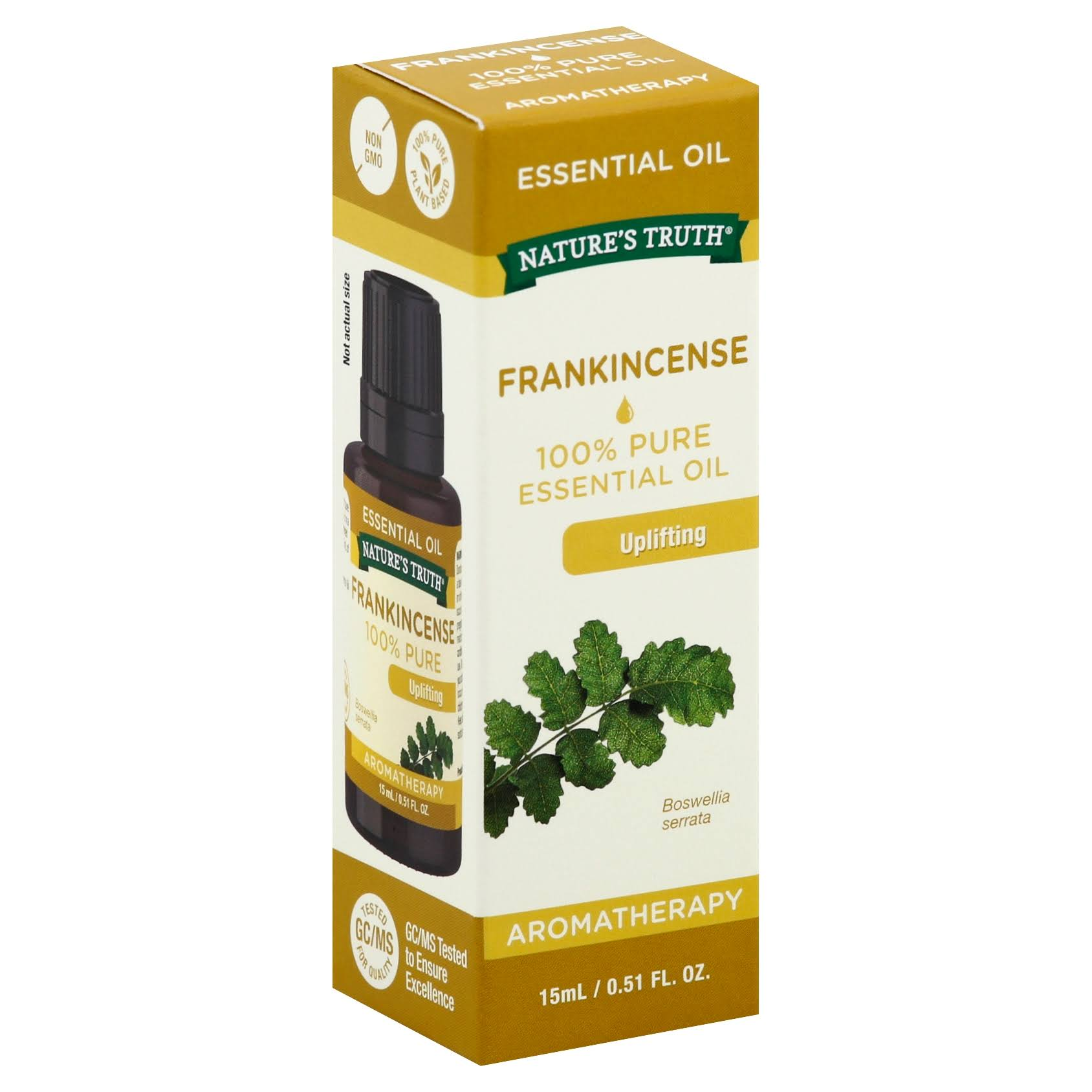 Natures Truth Aromatherapy Pure Essential Oil - Frankincense, 0.51oz