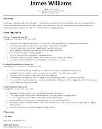 Truck Driver Resume Sample - ResumeLift.com
