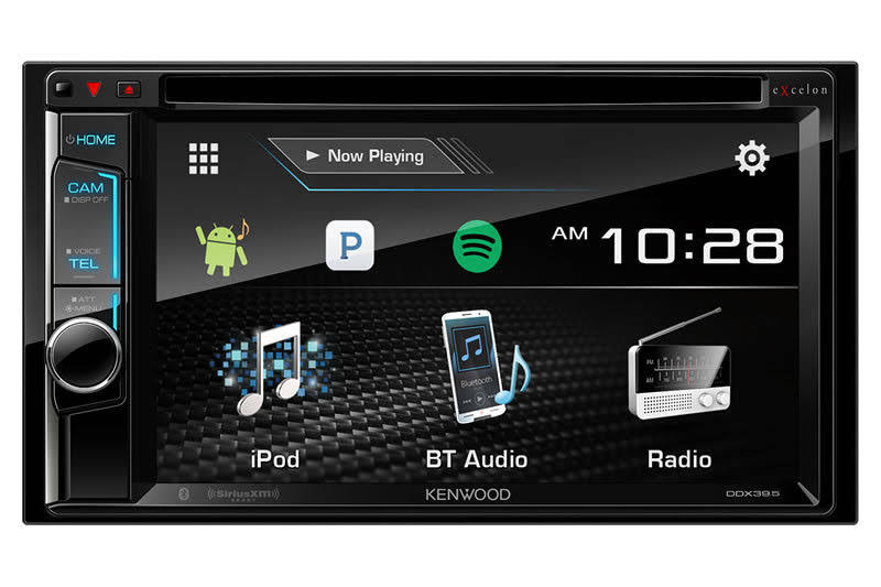 Kenwood Excelon DDX395 In-dash Dvd Cd Receiver - with Bluetooth, 6.2""