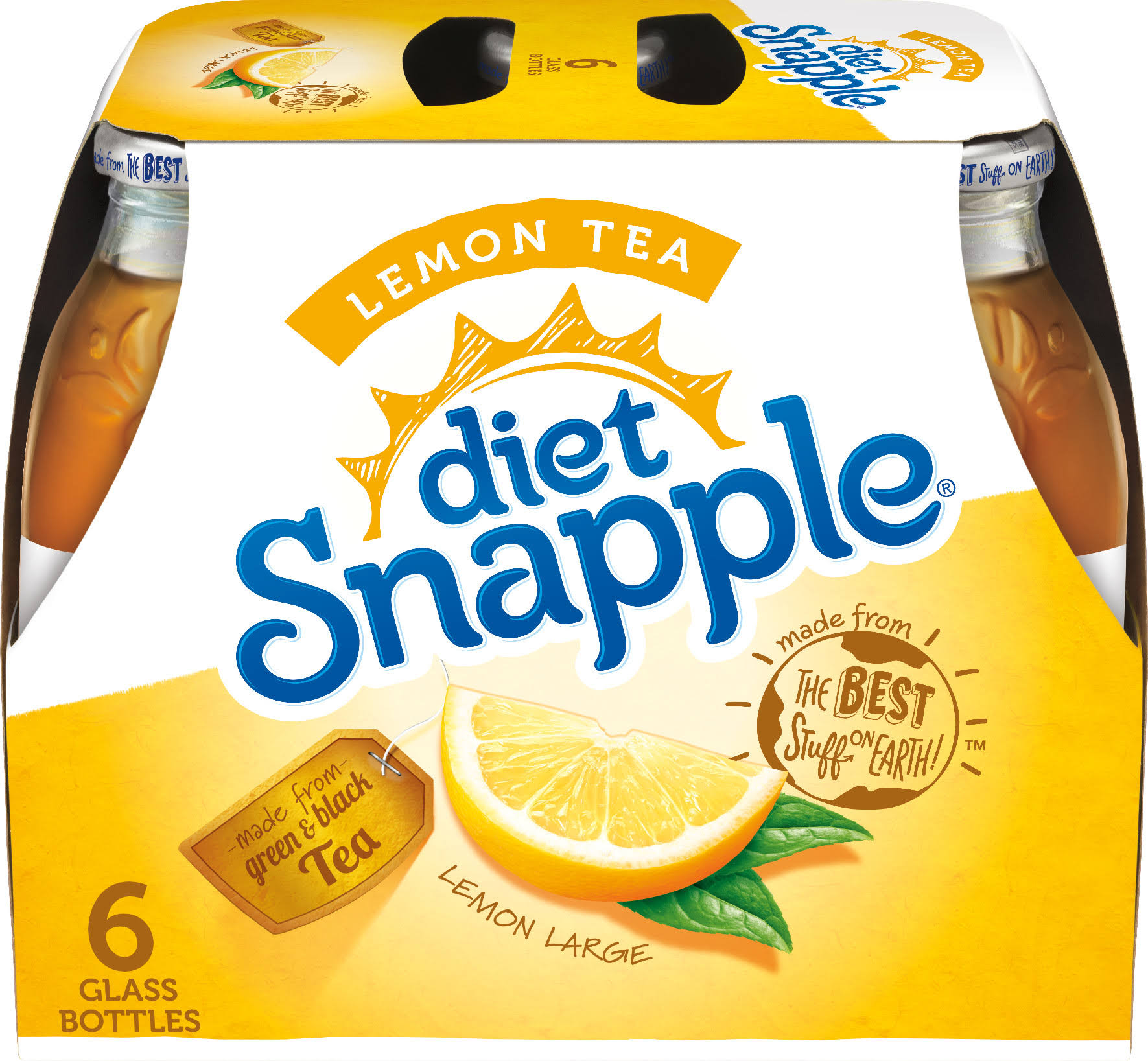 Snapple Diet Lemon Tea - 16oz, 6ct