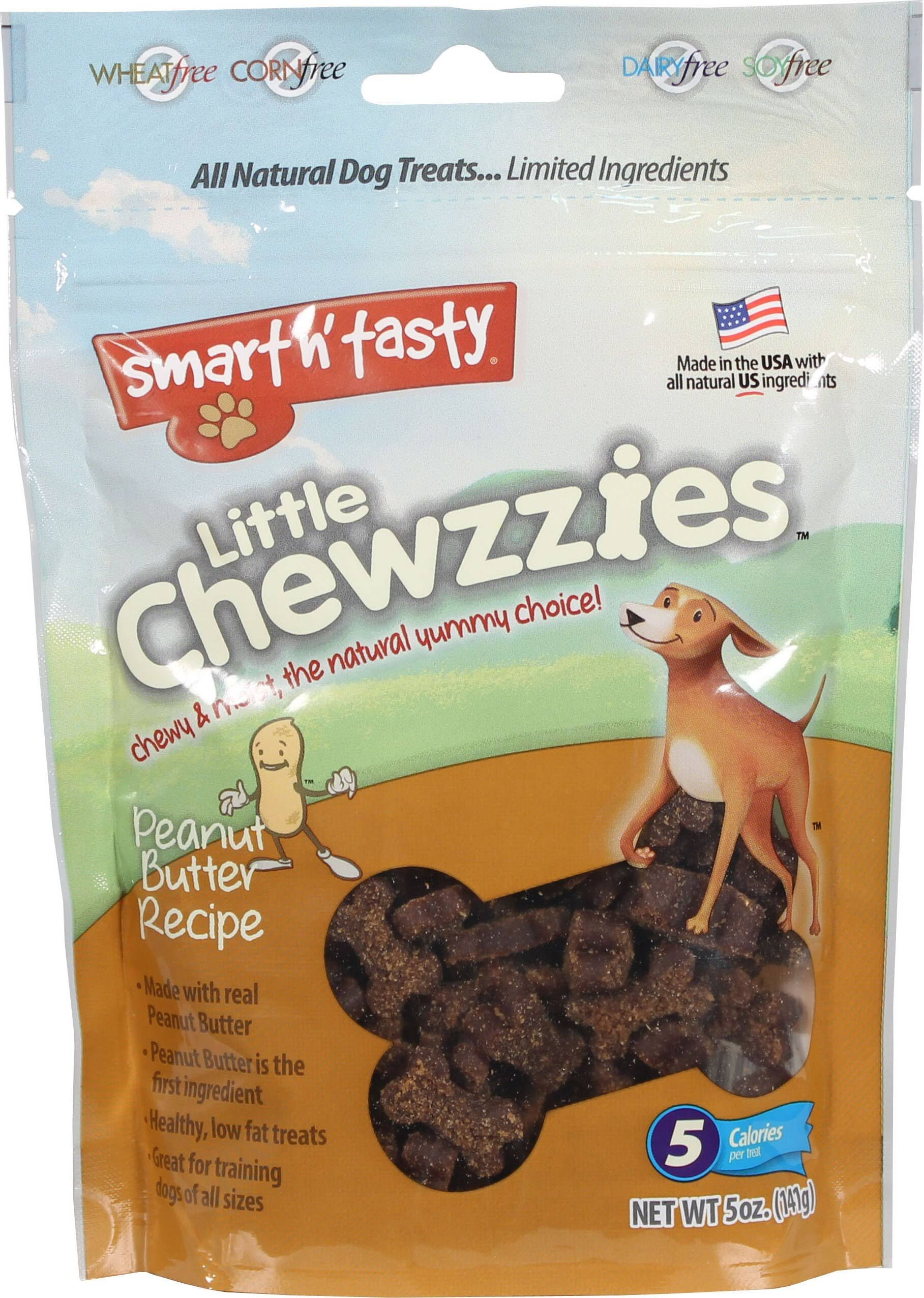 Smart N Tasty Little Chewzzies Dog Treats - Peanut Butter