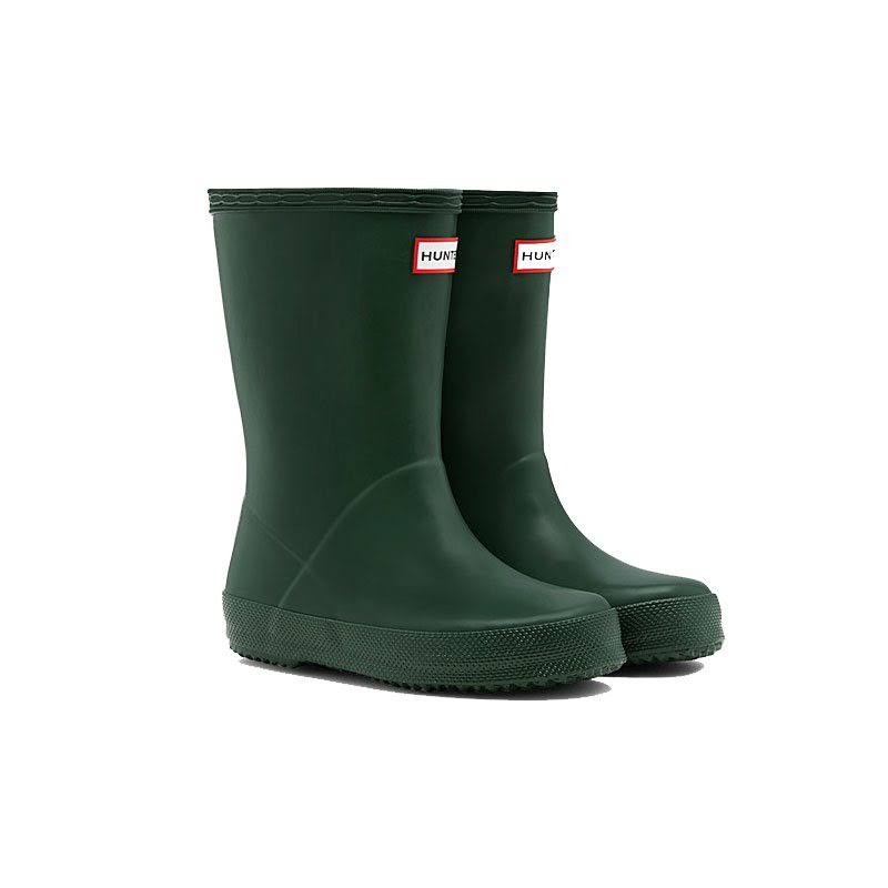 Hunter Kids Original First Classic Rain Boots Hunter Green 9