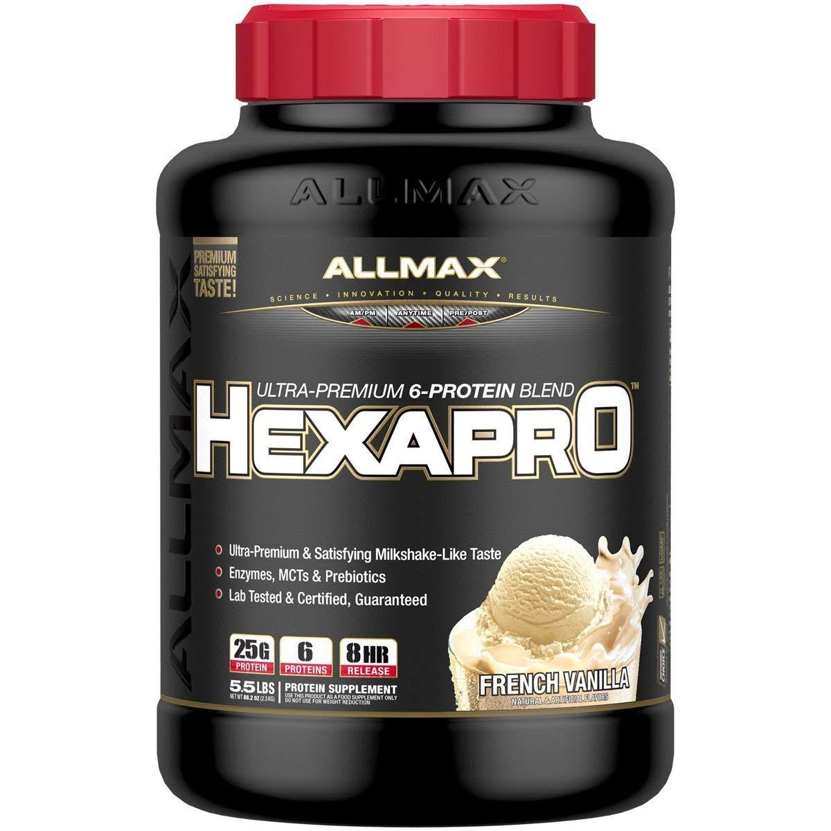 Allmax Nutrition Hexapro French Vanilla 5 lbs