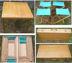 outstanding wooden folding picnic table folding wood picnic table