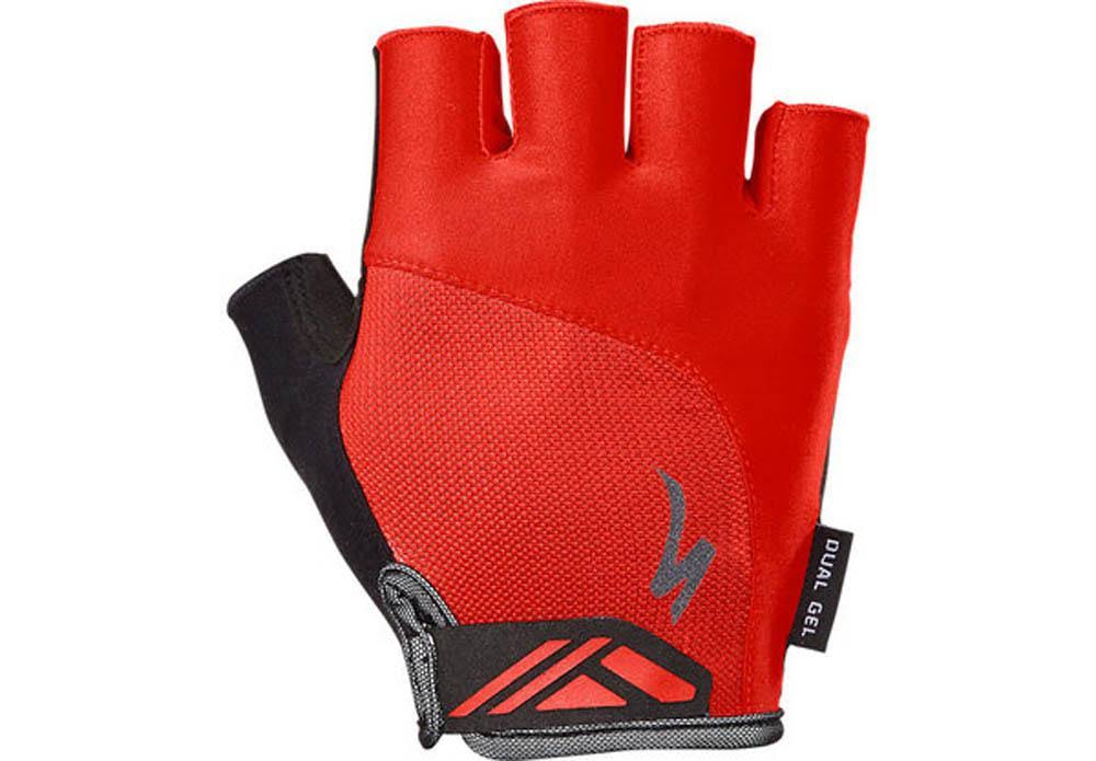 Specialized BG Dual Gel Gloves - Red - Medium