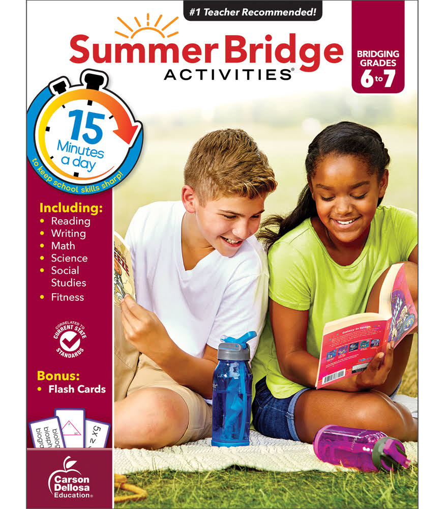 Summer Bridge Activities Grades 6-7 - Summer Bridge Activities