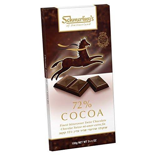 Schmerling's Finest Bittersweet Swiss Chocolate - 100g