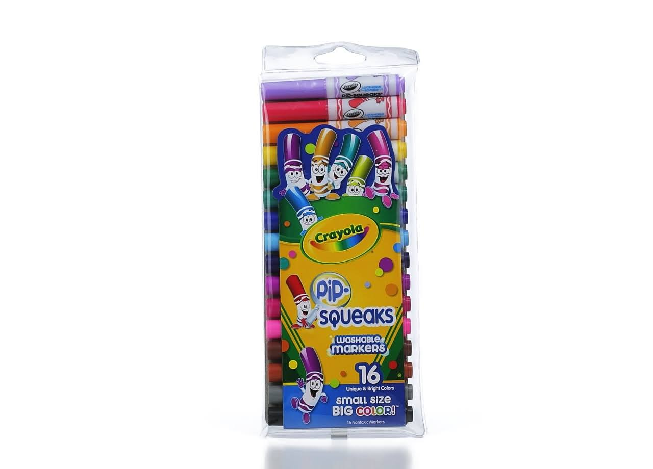 Crayola Pip-Squeaks Washable Markers - 16ct