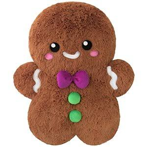 Squishable / Mini Gingerbread Man Plush - 7""