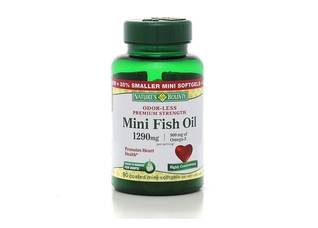Nature's Bounty Mini Fish Oil Supplement - 1290mg, 90ct
