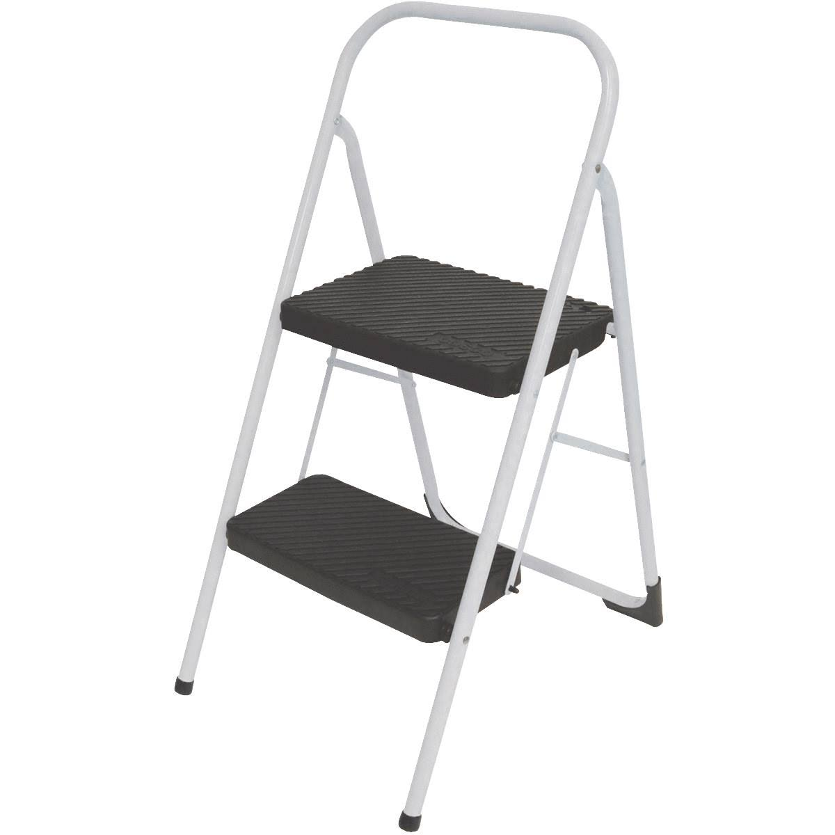 Cosco Big Step Stool - Cool Grey, 2 Step
