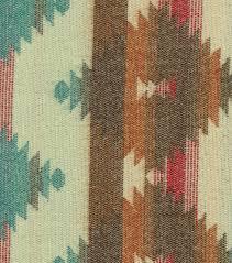 Southwest Decoratives Quilt Shop by Southwest Apparel Fabric Aztek Gray Turquoise Jacquard Acrylic